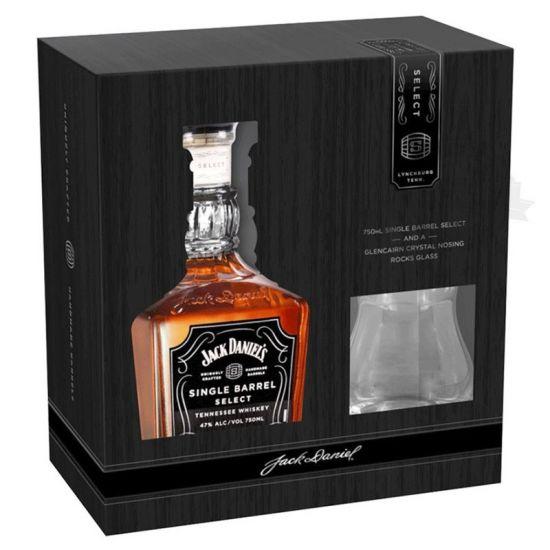 Jack Daniel's Single Barrel Pack copa Glencairn Crystal