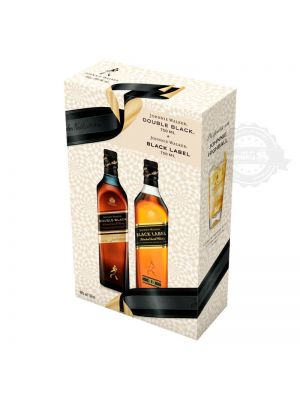 Johnnie Walker Black Label + Johnnie Walker Double Black Pack