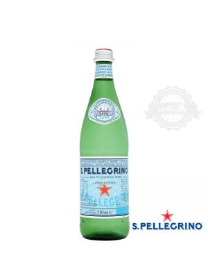 San Pellegrino vidrio c/gas 750cc