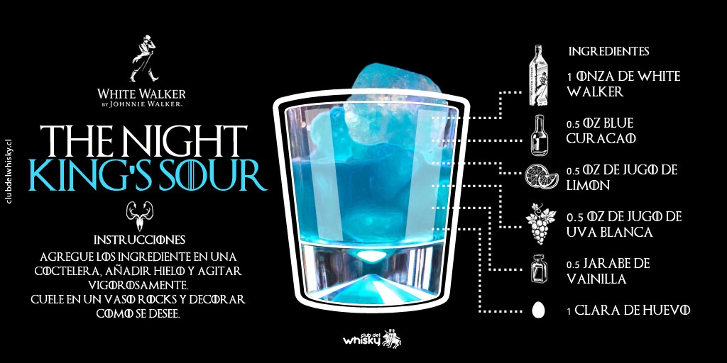 The Night King's Sour | White Walker by Johnnie Walker