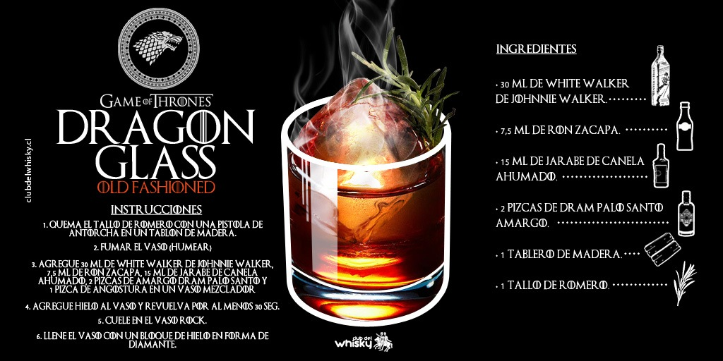 DRAGONGLASS OLD FASHIONED | GAME OF THRONES